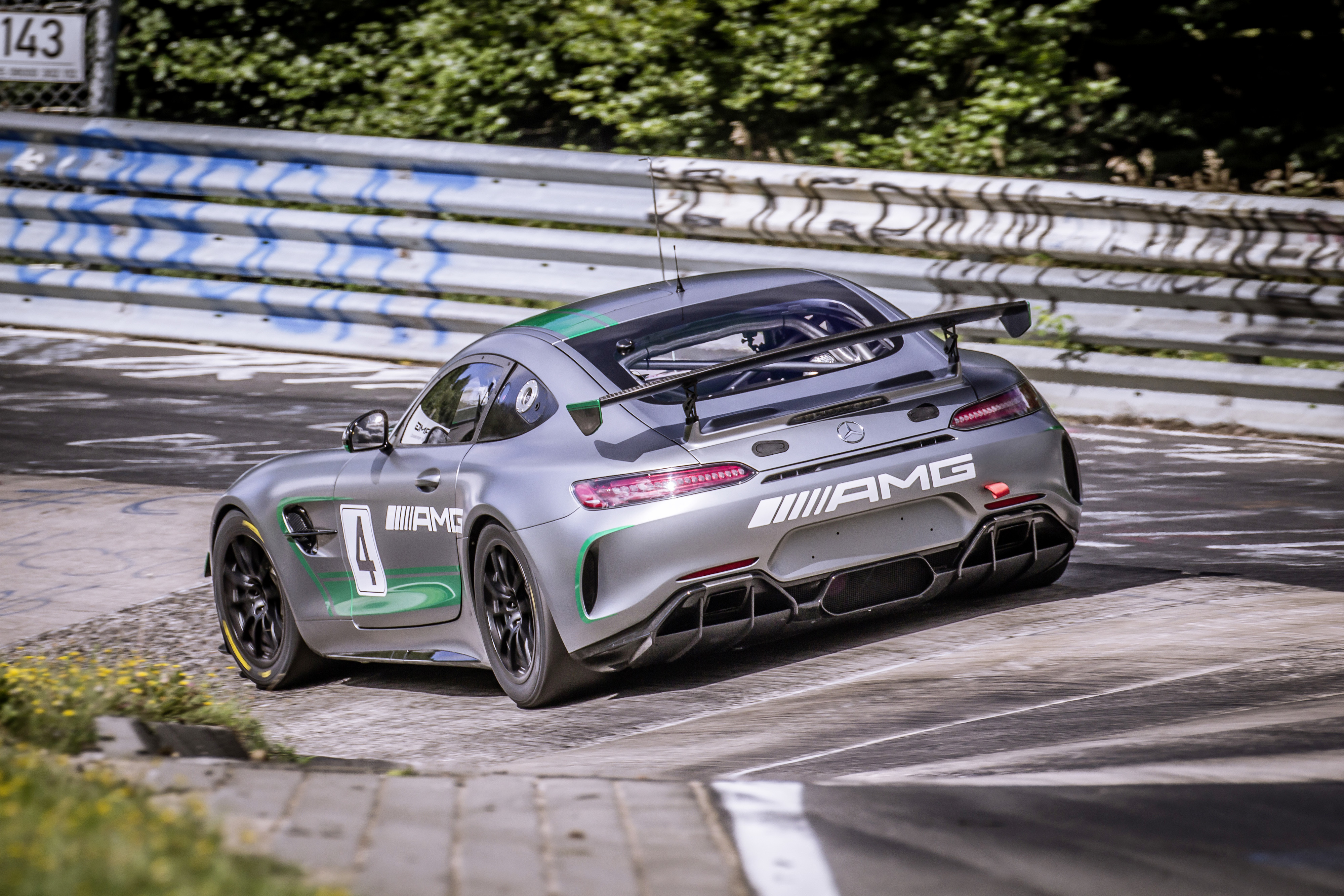 the mercedes amg gt4 to race at the n rburgring nordschleife for the first time. Black Bedroom Furniture Sets. Home Design Ideas