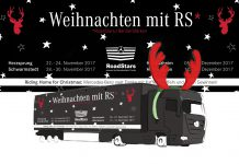 "Weihnachten mit RS - RoadStars/RentierStärken: ""Riding Home for Christmas"" mit Mercedes-Benz Lkw"